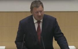 Выступление Владимира Кашина на заседании Совета Законодателей