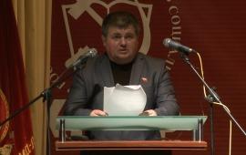 Выступление Алексея Соколова на 48-й отчётно-выборной Конференциии МК КПРФ