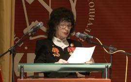 Выступление Марины Прокудиной-Пушкиной на 48-й отчётно-выборной Конференции МК КПРФ