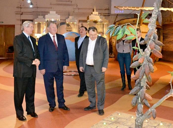 В.И. Кашин посетил Объединённую производственную площадку фабрик «Красный Октябрь» и «Бабаевский»