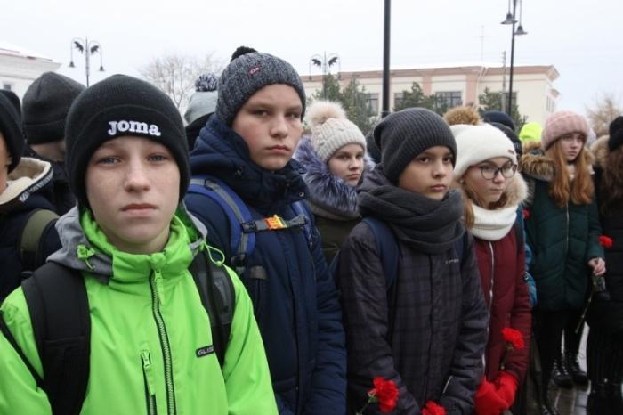 Годовщину контрнаступления отметили в Рузе торжественным митингом