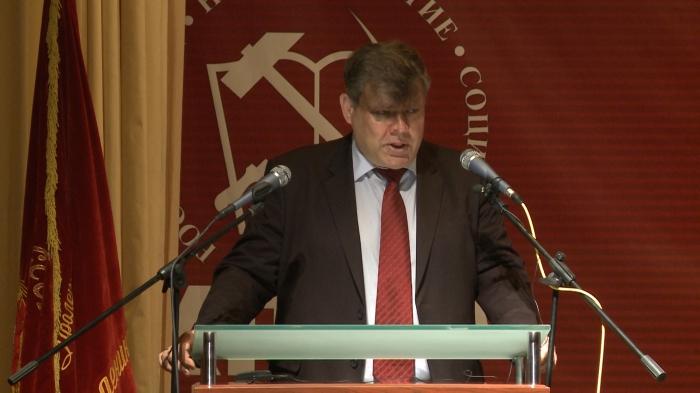 Выступление Олега Емельянова на 48-й отчётно-выборной Конференции МК КПРФ