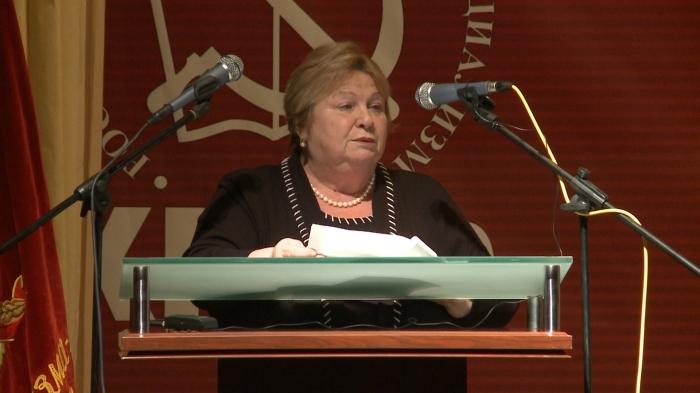 Выступление Татьяны Ордынской на 48-й отчётно-выборной Конференции МК КПРФ