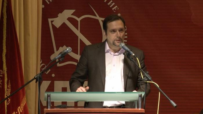 Выступление Владимира Глотова на 48-й отчётно-выборной Конференции МК КПРФ