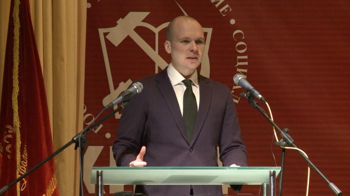Выступление Александра Корнева на 48-й отчётно-выборной Конференции МК КПРФ
