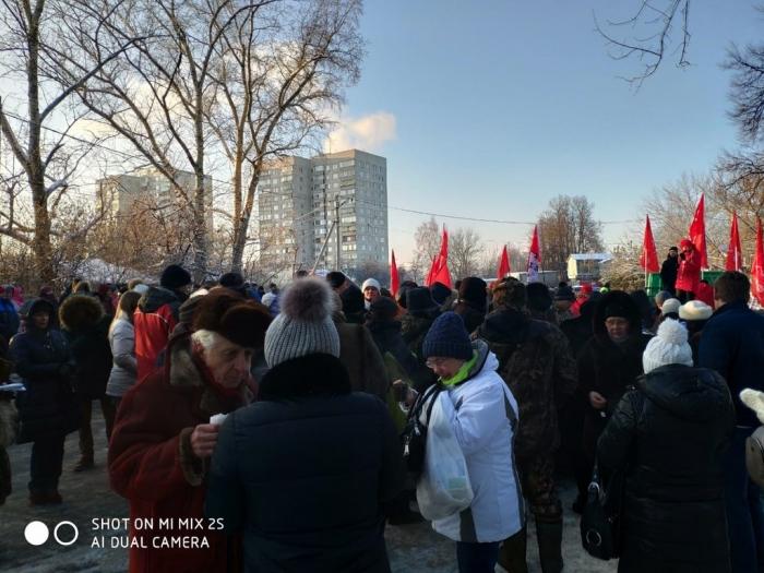 В Молоково состоялся митинг КПРФ