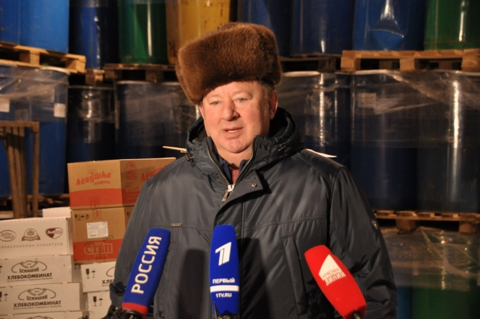 Новогодний 76-ой гуманитарный конвой ушёл в Новороссию