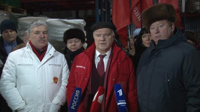 Геннадий Зюганов: «Помогали, и будем помогать своим друзьям на Донбассе»
