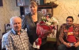 Солнечногорские коммунисты в гостях у Н.И. Чебыкина