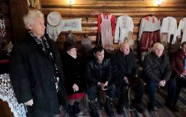 Помним о встрече Ленина с крестьянами в Горках