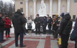 В Ленинском районе почтили память В.И. Ленина