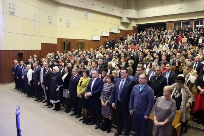 Секретарь МК КПРФ Александр Наумов принял участие в инаугурации Главы г.о. Озёры