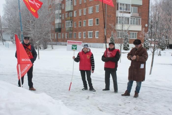 Кому Новый год, а коммунистам Шаховской борьба до последнего дня