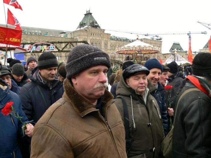 Серпуховчане почтили память Ленина