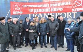 КПРФ возобновила отправку гуманитарных грузов в Новороссию