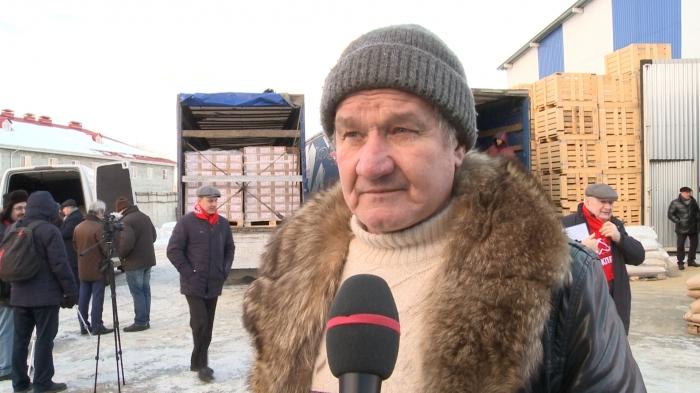 Интервью Михаила Волкова на отправке 78-го гуманитарного конвоя