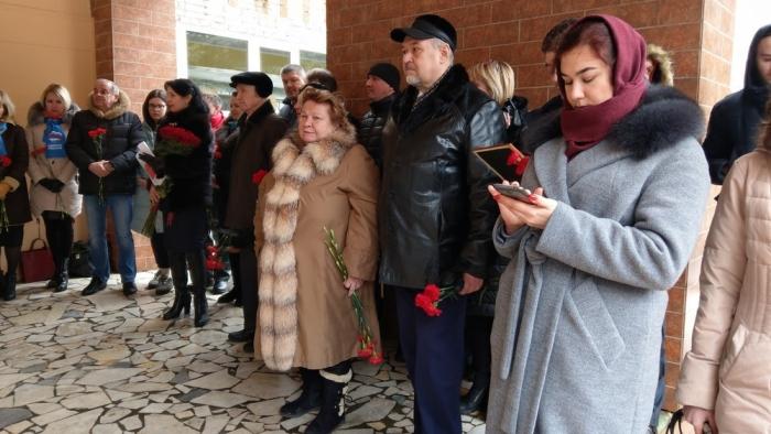 В Королёве открыли мемориальную доску Героям-курсантам