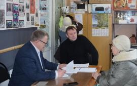 Александр Наумов провёл приём граждан в г.о. Озёры и встретился с Главой округа