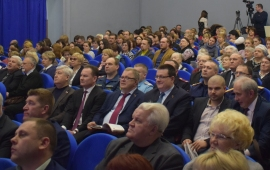 Александр Наумов принял участие в отчете главы городского округа Кашира