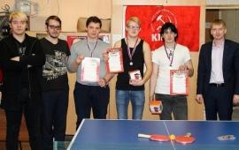 В Орехово-Зуево состоялись соревнования по настольному теннису