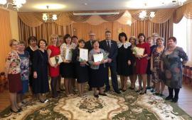 Воскресенских педагогов поздравили с 8 марта