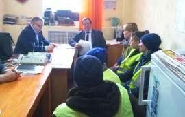 Депутат Мособлдумы Александр Наумов провел прием граждан в Кашире