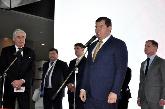 Михаил Авдеев принял участие в торжественном открытии выставки BATIMAT RUSSIA 2019