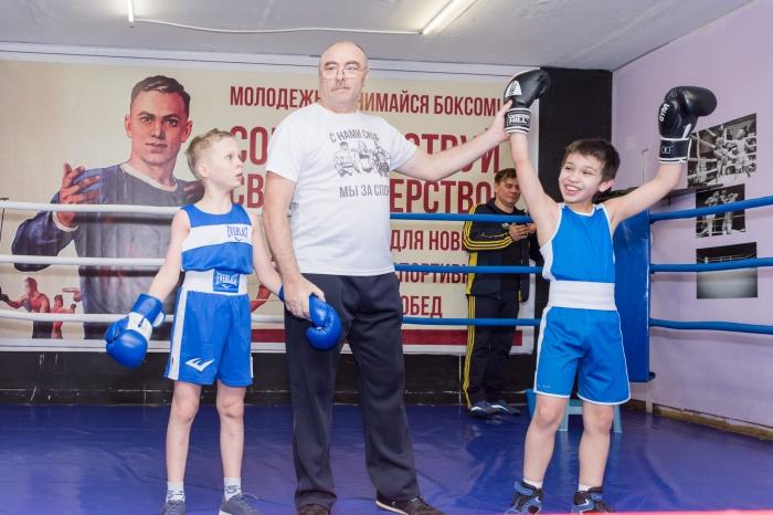 В деревне Ликино состоялся детский боксерский турнир