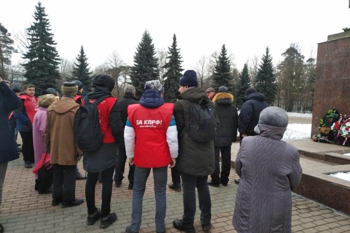 Митинг в Красногорске