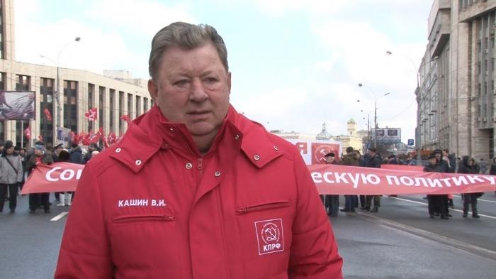 Владимир Кашин: Мы подняли наши знамёна, и будем уверенно идти к Победе!