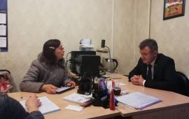 Депутат Мособлдумы Василий Мельников провёл приём во Фрязине 11 апреля