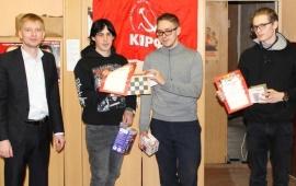 Орехово-Зуевский ГК КПРФ провёл турнир по шашкам