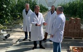 Василий Мельников посетил с рабочим визитом агрофирму Иванисово