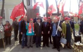 Рузские коммунисты отдали дань уважения В.И. Ленину