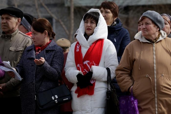 Массовый митинг протеста в Зарайске: «Не до жиру – быть бы живу!»