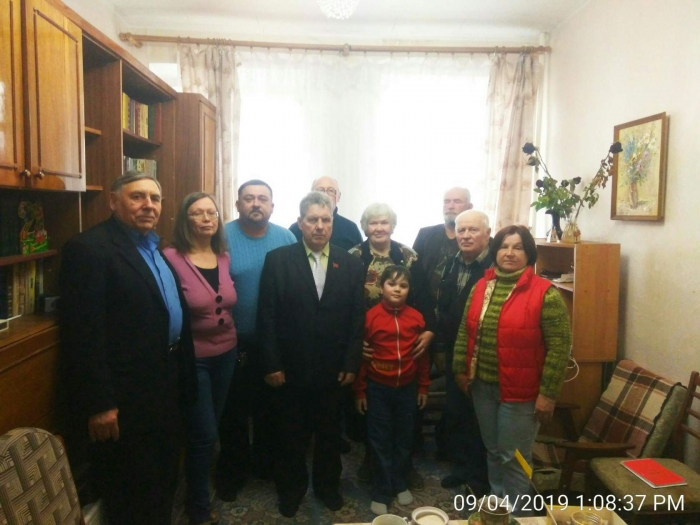 Коммунисты Шаховского ГК КПРФ провели Бюро