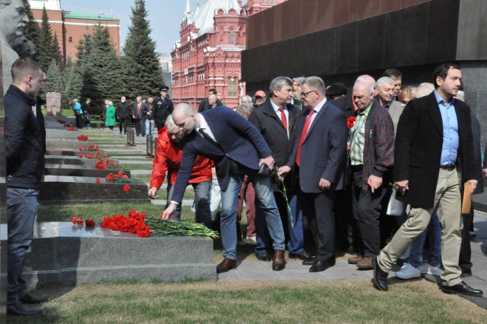 Г.А. Зюганов: «Ленин – это Великий Октябрь, Великая индустриализация, Великая Победа»