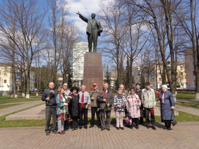 День рождения В.И. Ленина в Воскресенске