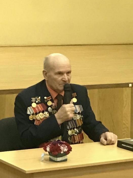 Встреча с ветераном в Селятино