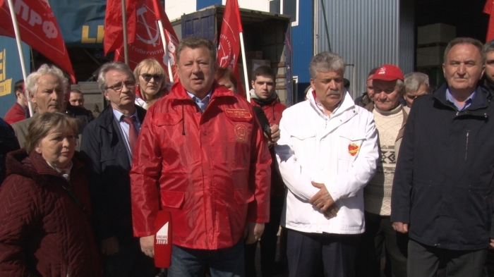 Владимир Кашин: Наша работа по защите русского мира, наши конвои играют очень важны для Донбасса!