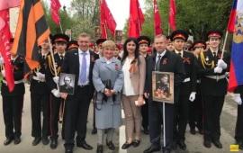 День Победы отпраздновали в Солнечногорске
