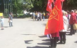 Митинг в Воскресенске