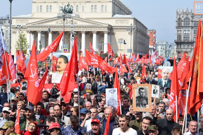 День Победы Советского народа над фашизмом будет жить в веках!