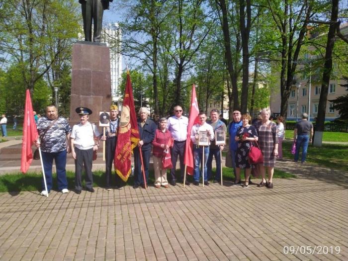 День Победы в Воскресенске