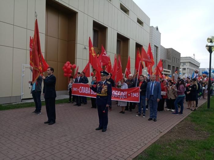 Люберчане отпраздновали день Победы!