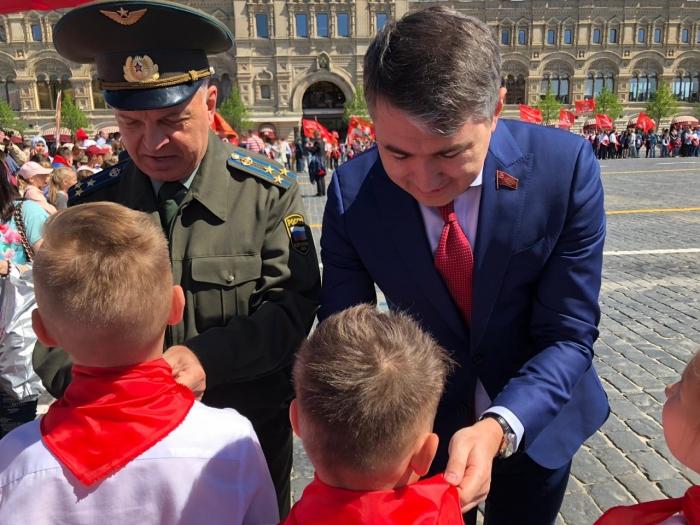 Пионеры на Красной площади!
