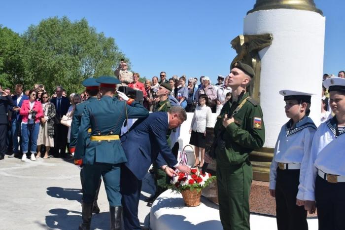 Александр Наумов принял участие в торжественных мероприятиях в Луховицах