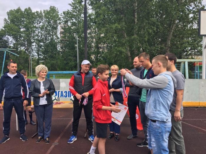 В Щелково дан старт VII чемпионату Детской дворовой футбольной лиги!