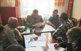 Депутат Александр Наумов провел прием граждан в Ступино