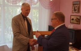 Депутат Александр Наумов посетил с рабочим визитом г.о. Дзержинский
